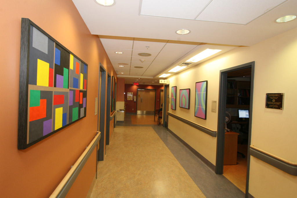 The Morry Marcovitch Gallery at the Jewish General Hospital